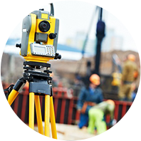 Land surveying and section of sites. Registration of objects of incomplete construction