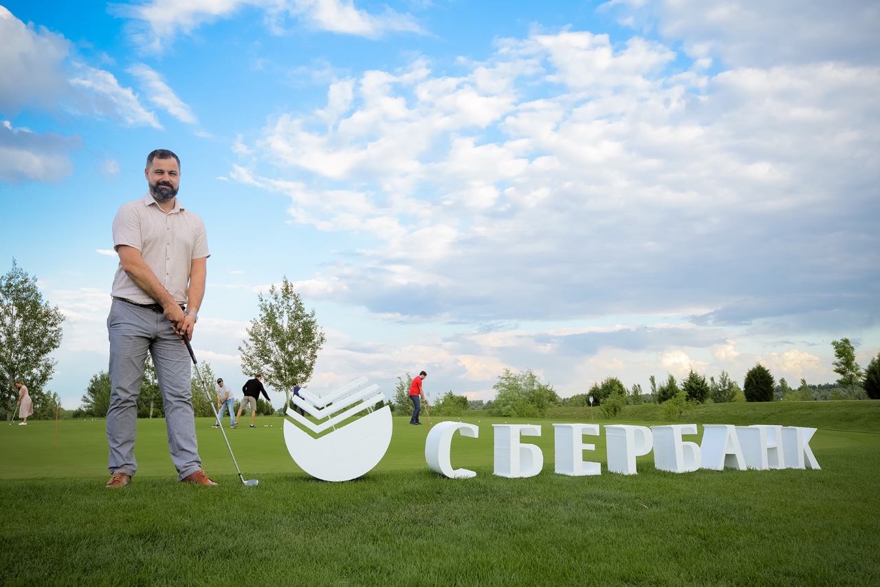 Maralin Ru took part in the event from Sberbank Golf club Country